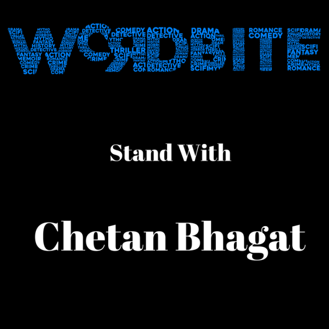 I Stand with Chetan Bhagat