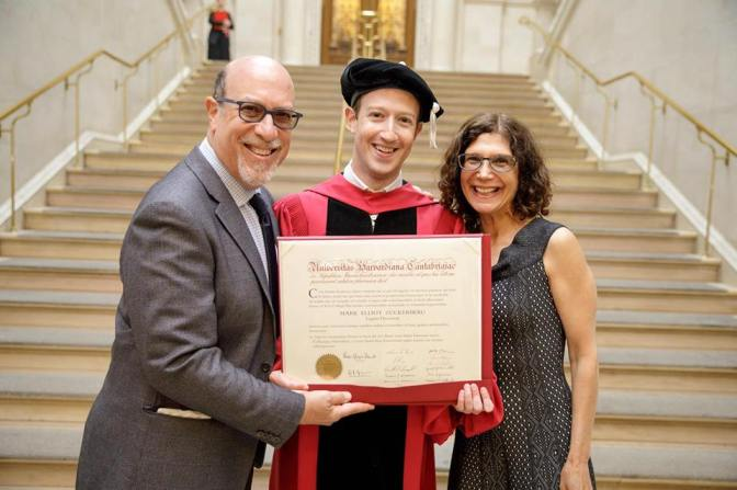 Mark Zuckerberg finally gets his Harvard degree after 12 years!