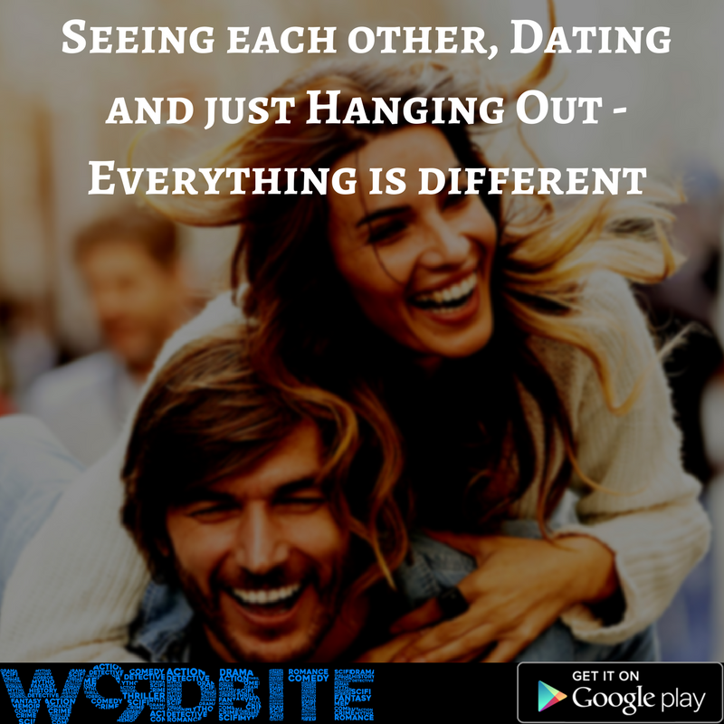 difference seeing each other dating