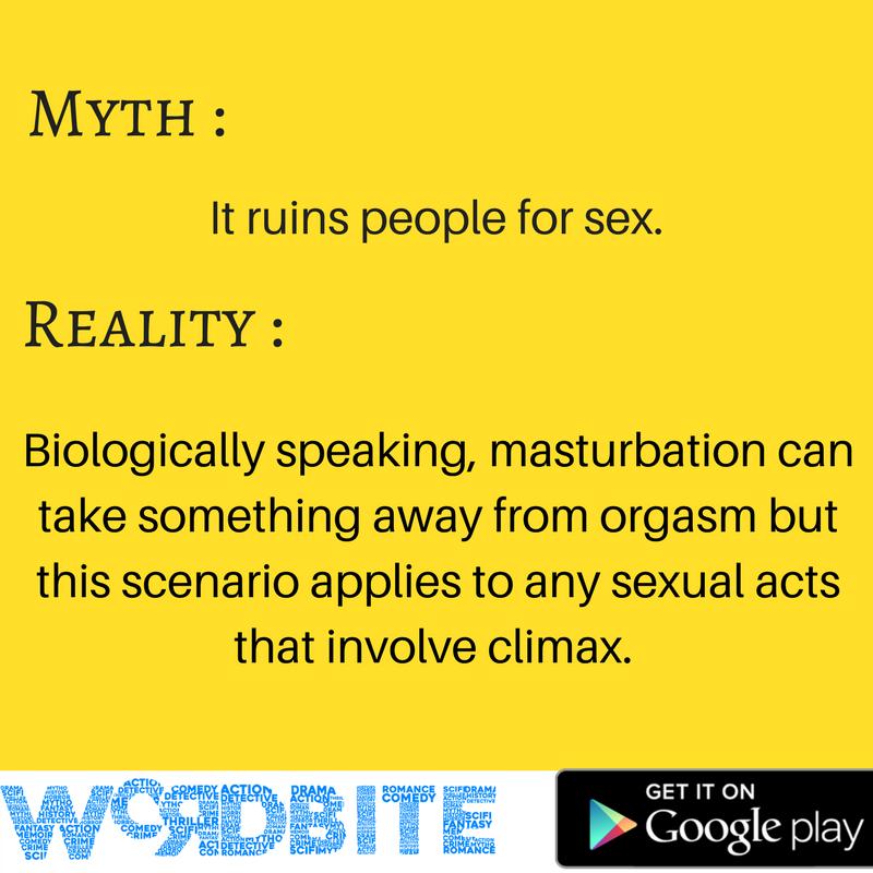 on masturbation Myths