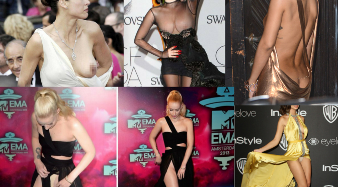 Most Embarrassing Celebrity Wardrobe Malfunctions Of All