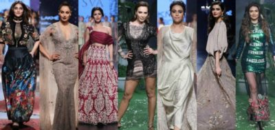 22 Bollywood Celebs Who Slayed At The Lakme Fashion Week 2017 As Showstoppers